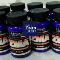 Suplemen Fitness ZMA 90 Capsules By : Ultimate Nutrition