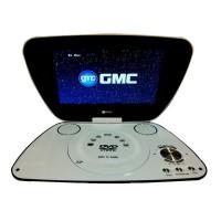 """DVD Portable GMC LED 7"""" 3E44X"""