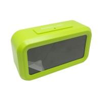 Digital Desktop Smart Clock - JP9901 - Green P3WDR