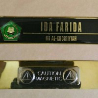 Nama Dada/Name Taq/Papan Nama LOGO Kementerian Agama Magnet