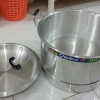 harga Panci Serbaguna ORCHID / Panci Langseng Aluminium 40 Cm Tokopedia.com