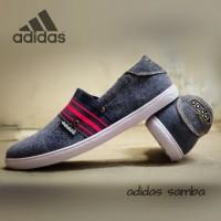 harga Sepatu Adidas Samba Slip On Leather 39-43 Tokopedia.com