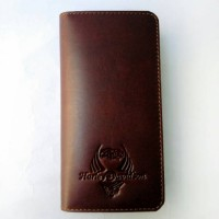 Dompet Panjang Kulit Asli Harley Davidson Dph02