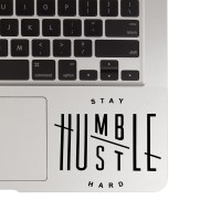 Jual 137 macbook decal sticker laptop aksesoris laptop stay humble mousepad Murah