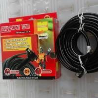 Kabel antena tv 5c tembaga asli merk kitani 20 meter