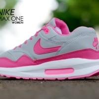harga Sepatu Nike Airmax Lunar Grey Pink Casual Women Tokopedia.com