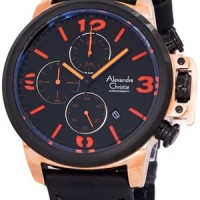 Jam Tangan Alexandre Christie AC 6280 Rose Gold Original