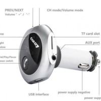 harga CARG7 Q7 Wireless Bluetooth Car Kit FM Transmitter MP3 Player Charger Tokopedia.com