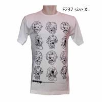 F237 Kaos Gambar Zombie Kaos Gambar Mummy Kaos Monter Rame Kaos Distro