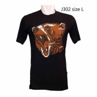 J302 Kaos Gambar Beruang Kaos Sangar Kaos Design Binatang Kaos Distro