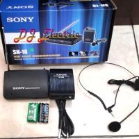 harga Mic / Microphone Wireless Headset / Clip On portable SONY SN-18 Tokopedia.com