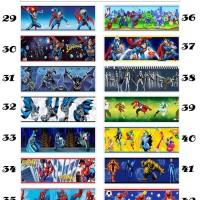 Wallborder/Wallpaper Dinding/Tembok/Roll Superman/Ben/Batman 12mx10cm