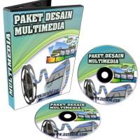 Paket Desain Multimedia (edit video) +Grafis & Templete