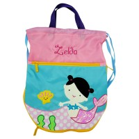 "Tas Renang Anak ""Mermaid"" Gratis Custom Nama by Char & Coll"