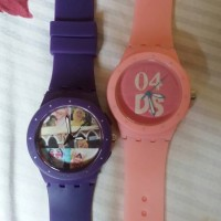 Jam tangan couple custom bisa pakai nama, tanggal, gambar, foto, logo