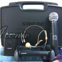 harga Mic Wireless Shure PGX 242 (Handheld + Clip on + Headset) Tokopedia.com