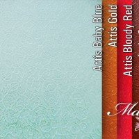 Kertas Kado Fancy Paper Classic (Attis: Baby Blue, Bloody Red, Brown)
