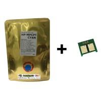 Serbuk Toner Laserjet HP 1215 CYAN + Chip Japan