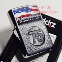 Zippo Pearl Harbor 75th Anniversary Special Edition 29176 Original USA