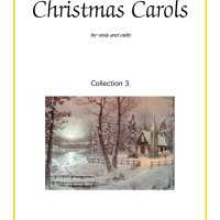 Buku viola and cello Christmas Carols, collection 3
