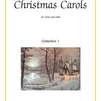 Buku viola and cello Christmas Carols, collection 1