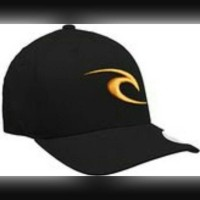 Topi  Topi / Hats Flexfit RIPCURL - hitam KJB763