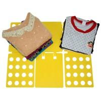 Lazy Magical Folding Children Clothes Board / Alat Pelipat Baju Anak