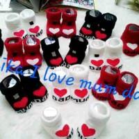 Kaus Kaki Baby / Anak I Love mom n I Love Dad