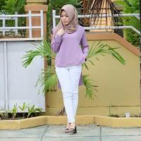 baju long dress blouse atasan wanita baru murah import realpict (63)