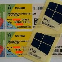 Windows10 COA Pro OEM Original ( Baru dan Bergaransi)