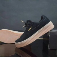 harga Sepatu Sport Casual Running Pria Sale Diskon Puma Suede Black Gum Tokopedia.com