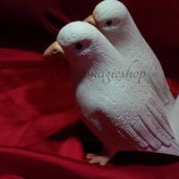 sulap latex dove berdiri
