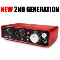 Focusrite Scarlett 2i2 [2nd GEN] Soundcard / Audio Interace