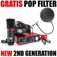 Focusrite Scarlett Studio [2nd GEN] Soundcard / Audio Interace