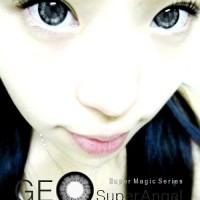 Geo Super Angel Grey 14.8mm SOFTLENS