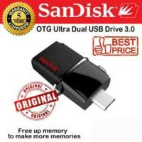 Flash Disk Sandisk OTG Ultra Dual USB Drive 3.0 64GB Original