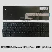 KEYBOARD Dell Inspiron 15 3000 Series 3541 3542 - Black
