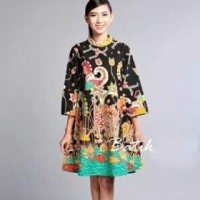 Dress Batik Solo, Dress Batik Wayang