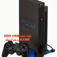 Paket Ps 2 Fat Tebal Seri 1 Multi Optik + Hdd 500 Gb Playstation Sony