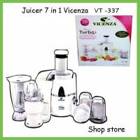 Juicer 7 In 1 Vicenza / Blender Juicer Vicenza Vt-337
