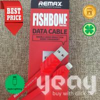 [YEAY Store] REMAX Kabel Data Lightning iPhone (ORI) - RED