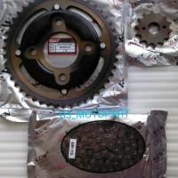 harga Gir Rantai Set / Gear Paket Baja Gl Pro Neotech / Megapro Kgw Tokopedia.com