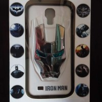 harga Hardcase Iron Man 3d For Samsung Galaxy S4 I9500 Uniqq Case Cover Casi Tokopedia.com
