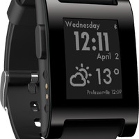 Pebble Classic Smartwatch - Jet Black