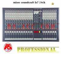 New Murah !!! Mixer Soundcraft Lx 7 Ii ( 24 Channel )