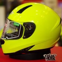 harga Kbc Vk Solid - Yellow Fluorescent | Helm Fullface | Dring | Visor Flat Tokopedia.com