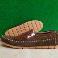 harga Sepatu Kickers Slop Kulit Suede Coklat Santai +original Hanmade Tokopedia.com