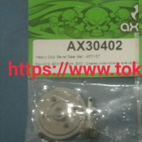 Axial Heavy Duty Bevel Gear Set 43T/13T AX10