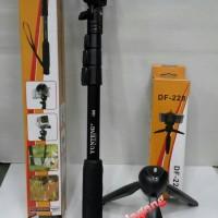harga Paket Yunteng YT 188 + Yunteng DF 228 monopod Tongsis Tokopedia.com