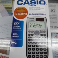 Kalkulator Scientific Programmable Casio Fx-3650PII. Fx-3650p